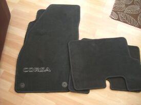 Genuine Vauxhall car mats