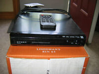 Dynex DVD player with remote- $8