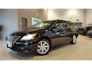 2013 Nissan Sentra 1.8 SL-NAVIGATION-REAR CAM-LEATHER-SUNROOF