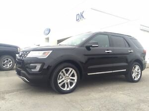 2016 Ford Explorer Limited 4WD Heated Seats, Adaptive Cruise