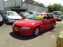 2002 Holden Commodore VX II S Red 4 Speed Automatic Sedan Punchbowl 2196 Canterbury Area Preview