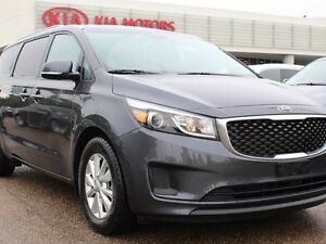 2017 Kia Sedona LX, HEATED SEATS, BACKUP CAM, ACTIVE ECO, REAR C