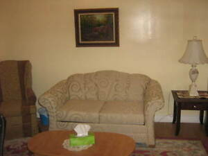 Private Furnished One Bdrm Apt