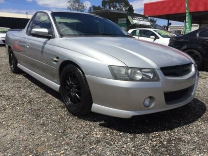 2007 Holden Ute VZ MY06 SS Silver 4 Speed Automatic Utility Elizabeth West Playford Area Preview
