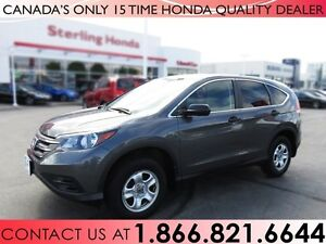 2013 Honda CR-V LX | AWD | NO ACCIDENTS | 1 OWNER