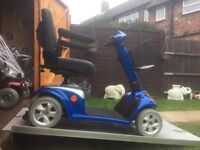 Lovely Huge Kymco 4 Plus Mobility Scooter For Only £435 - Puncture Proof Tyres