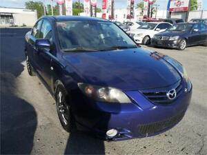 2005 Mazda Mazda3 GT, MANUAL, GROUPE ELECTRIC, CRUISE, A/C