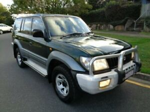 2000 Toyota Landcruiser Prado KZJ95R GXL (4x4) Green Metallic 5 Speed Manual 4x4 Wagon Chermside Brisbane North East Preview