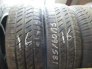 185/60R15 2 ONLY USED HERCULES A/S TIRES