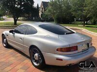 Miniature 18 Voiture Européenne d'occasion Aston Martin DB7 1998