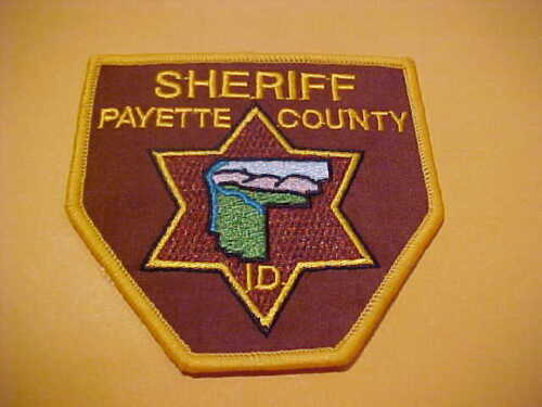 PAYETTE IDAHO POLICE PATCH SHOULDER SIZE NEW