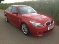 2009 09 BMW 5 SERIES 2.0 520D M SPORT 4D 175 BHP DIESEL