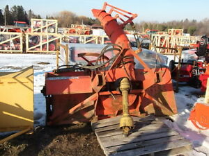 8' Lucknow Double Auger Snow Blower