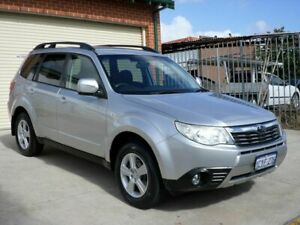 2008 Subaru Forester S3 MY09 XS AWD Silver 4 Speed Sports Automatic Wagon Mount Lawley Stirling Area Preview