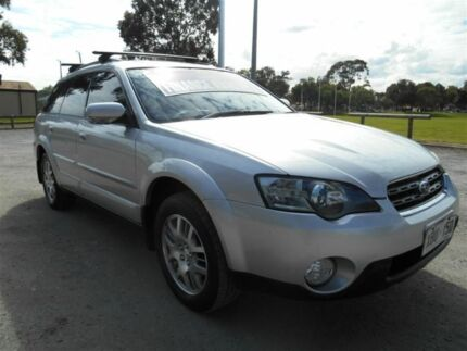 2004 Subaru Outback MY05 2.5I Safety Silver 5 Speed Manual Wagon Nailsworth Prospect Area Preview