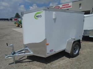 LIGHT WEIGHT CARGO TRAILER - 2017 NEO 5X8' - VERY EASY TO TOW London Ontario image 5