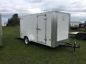 6 x 12 ROYAL LT SINGLE AXLE ENCLOSED CARGO $4082.00 TAX IN
