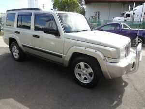 2007 Jeep Commander XH Silver 5 Speed Automatic Wagon Coopers Plains Brisbane South West Preview