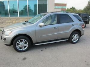 2008 Mercedes-Benz ML320  4MATIC /$9,895+HST+ Lic Fees/Cert