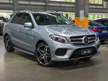 2015 Mercedes-Benz GLE350 W166 d Wagon 5dr 9G-TRONIC 9sp 4MATIC 3.0DT Diamond Silver