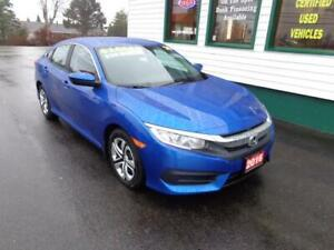 2016 Honda Civic Sedan LX for only $179 bi-weekly all in!