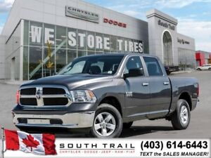 2017 Ram 1500 SLT- 4WD, 8 SPEED AUTO, LOW KMS, BT/USB, $235 B/W