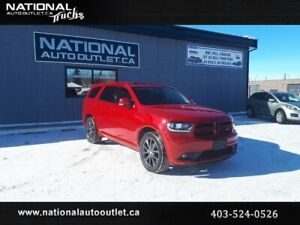 2018 Dodge Durango GT - CLEAN CARFAX- HEATED LEATHER FRONT AND B