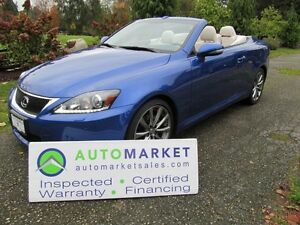 2013 Lexus IS 250 New Cond, Navi, Insp, Warr