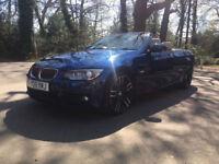 £276.14 PER MONTH - 2011 BMW 330 3.0TD AUTO CONVERTIBLE M SPORT DIESEL