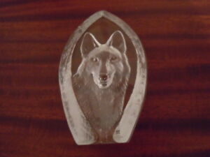 Crystal art - German Shepherd