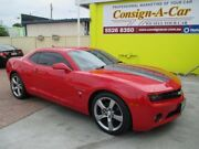 2011 Chevrolet Camaro 2LT RS Red 6 Speed Automatic Coupe Bundall Gold Coast City Preview