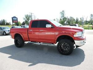 2011 RAM 1500 BIG HORN, HEMI, 4X4, FUEL RIMS, LOADED, 128 KM !