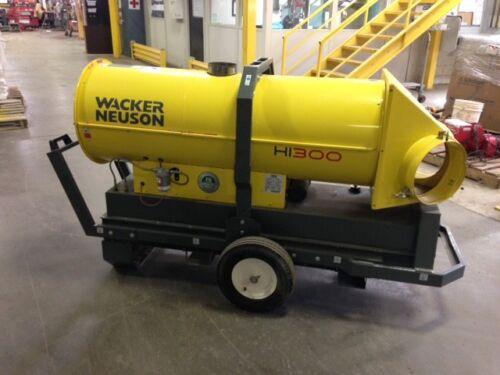 Wacker Nueson HI300 HD Air Fired Indirect Heater   #2 Diesel 2014 & 2015