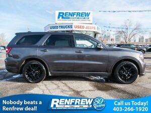 2016 Dodge Durango AWD R/T V8, Technology, Blacktop, Trailer Tow