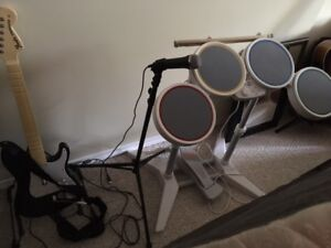 Entire Wii system,Wii Play, Rock Band and games