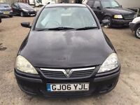 2006 Vauxhall Corsa, starts and drives, MOT until 3rd June, hence price, car located in Gravesend Ke