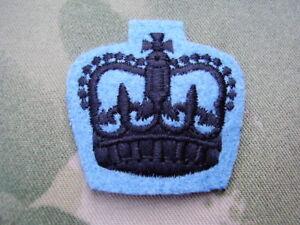 22 SAS (SPECIAL AIR SERVICE) SNCO/SGT NO2 Dress Military Jacket Rank Crown/Badge