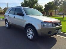 2004 Ford Territory SX TX Silver 4 Speed Sports Automatic Wagon North Brighton Holdfast Bay Preview