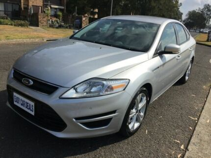 2012 Ford Mondeo MC LX TDCi Wagon 5dr PwrShift 6sp 2.0DT Silver Automatic Hatchback