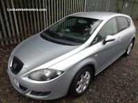 SEAT LEON STYLANCE 2006 1.9 TDI 5 DOOR HATCHBACK SILVER 129,000 MILES MOT 12 MONTH SERVICE HISTORY
