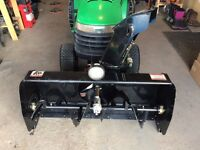 "44"" Snowblower attachment for lawn tractor"