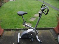 Carl Lewis Exercise Bike