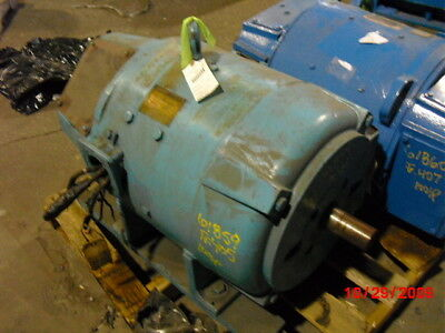 100 Hp Dc Westinghouse Electric Motor 1750 Rpm 405as Frame Dpfv 500 V