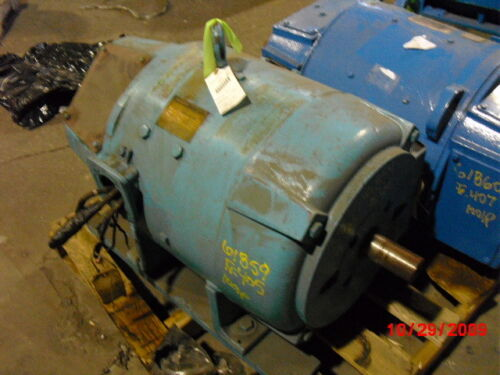 100 Hp Dc Westinghouse Electric Motor, 1750 Rpm, 405as Frame, Dpfv, 500 V