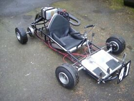 Go Kart; 1964 Shrike rolling chassis fully rebuilt and only used twice