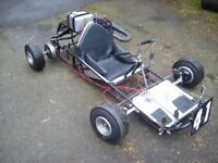 Go Kart; 1964 Shrike/Villiers fully rebuilt and only used twice