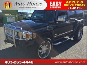 2007 HUMMER H3 SUV TWO TONE LEATHER, 4X4, EVERYONE APPROVED