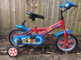 "Kids Paw Patrol Bike - 12"" - 3-4 Years - Excellent Condition - Hardly Used"