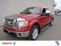 2012 Ford F-150 Lariat - 4x4, Nav, Leather, Moonroof