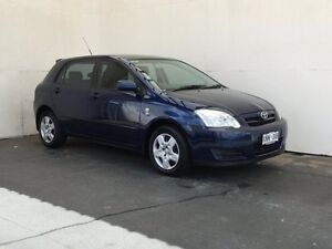 2007 Toyota Corolla ZZE122R 5Y Ascent Blue 5 Speed Manual Hatchback Mount Gambier Grant Area Preview